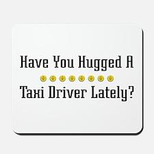 Hugged Taxi Driver Mousepad