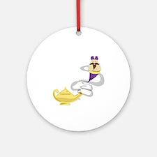Genie Lamp Ornament (Round)