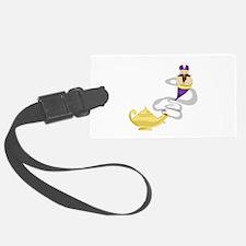 Genie Lamp Luggage Tag