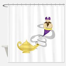Genie Lamp Shower Curtain