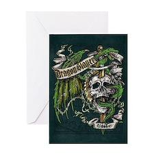 Dragon Slayer Crest Greeting Card