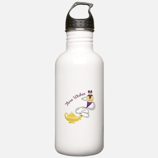 Three Wishes Water Bottle