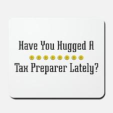 Hugged Tax Preparer Mousepad