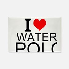 I Love Water Polo Magnets