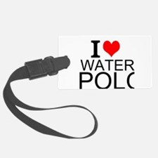 I Love Water Polo Luggage Tag