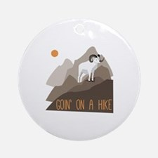 Goin on a Hike Ornament (Round)