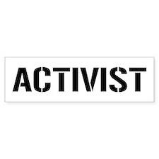 Activist Bumper Sticker