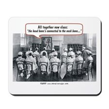 All Together Now Nurses Mousepad