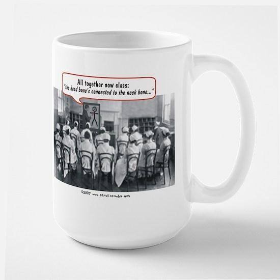 All Together Now Nurses Large Mug
