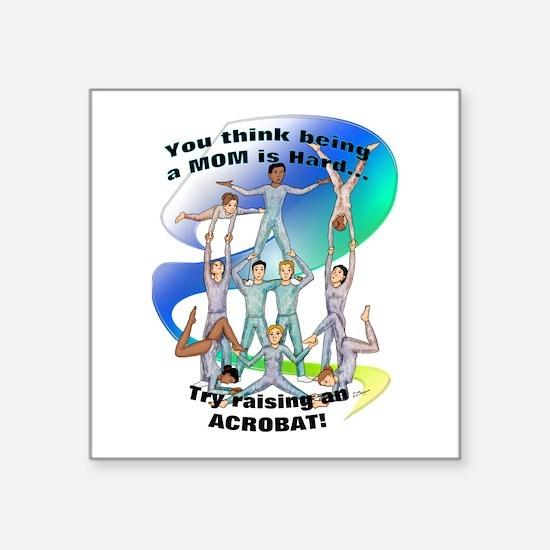 Raising Acrobat Sticker