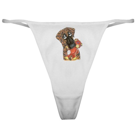 NBrdl Love My Teddy Classic Thong
