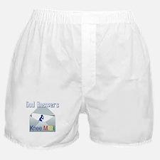 God Answers Knee Mail Boxer Shorts