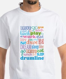 Live Dream Eat Sleep Drumline T-Shirt
