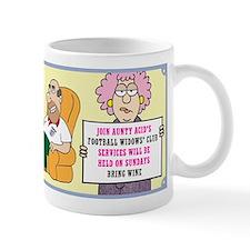 Aunty Acid: Football Widows Club Mug