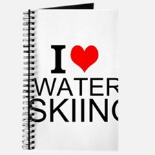 I Love Water Skiing Journal
