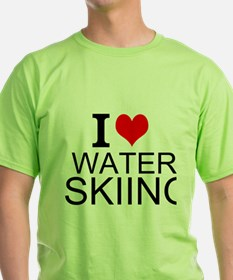 I Love Water Skiing T-Shirt