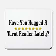 Hugged Tarot Reader Mousepad