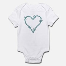 Barbed Wire Heart Infant Bodysuit