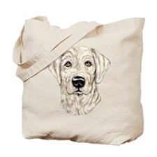 Yellow Lab Bust Tote Bag