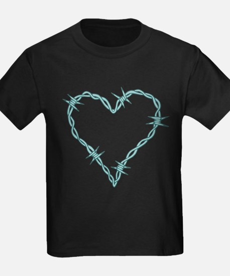 Barbed Wire Heart T