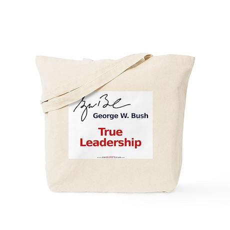 """True Leadership"" Tote Bag"