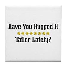 Hugged Tailor Tile Coaster