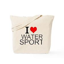 I Love Water Sports Tote Bag