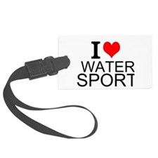 I Love Water Sports Luggage Tag