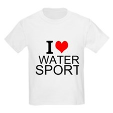 I Love Water Sports T-Shirt