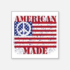 """American Made Square Sticker 3"""" x 3"""""""