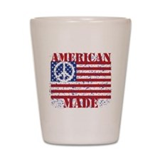 American Made Shot Glass