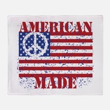 American Made Throw Blanket