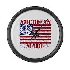 American Made Large Wall Clock