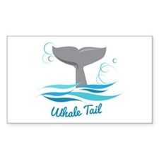Whale Tail Decal