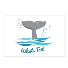 Whale Tail Postcards (Package of 8)