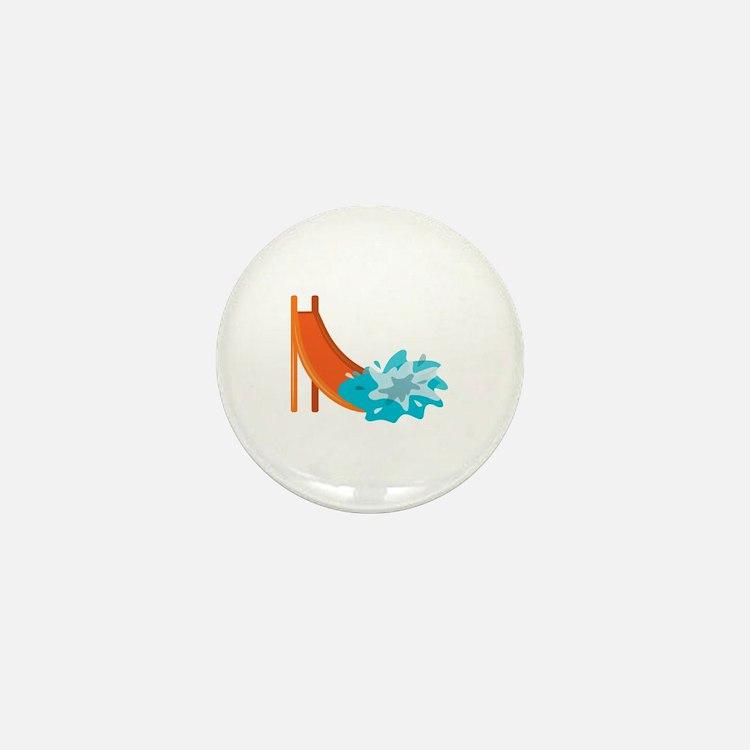 Water Slide Mini Button