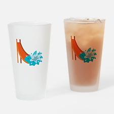 Water Slide Drinking Glass
