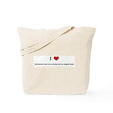 I Love My Husband Curtis my s Tote Bag
