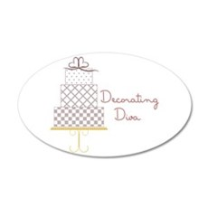 Decorating Diva Wall Decal