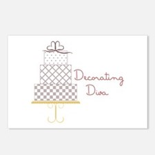 Decorating Diva Postcards (Package of 8)