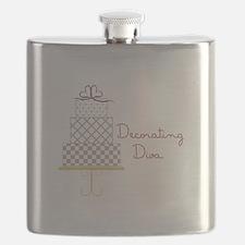 Decorating Diva Flask