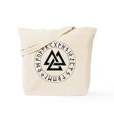 Triple Triangle Rune Shield Tote Bag