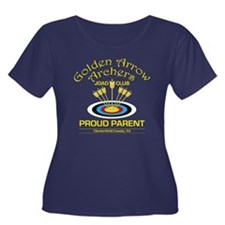 Golden Arrow Proud Parent Womens Plus Size T-Shirt