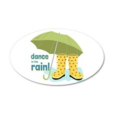 Dance In The Rain! Wall Decal