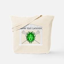 Lacrosse Greek Isles Tote Bag
