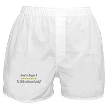 Hugged Tai Chi Practitioner Boxer Shorts