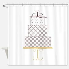 Layered Cake Shower Curtain