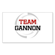 Gannon Rectangle Decal