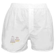 Cake Saying Boxer Shorts