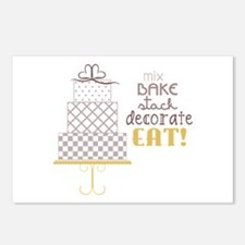 Cake Saying Postcards (Package of 8)